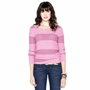 Fossil Cynthia Pullover Striped Sweater